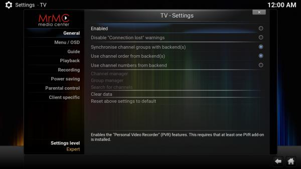 Simple IPTV - MrMC Wiki